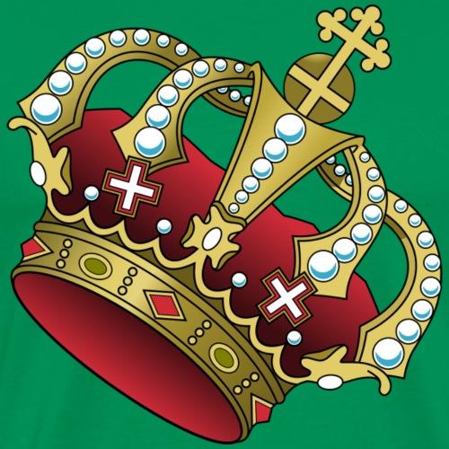 crown-307967_1280 - Premium-T-shirt herr