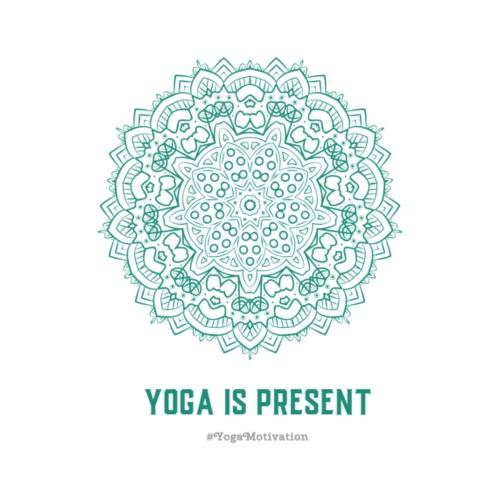 Yoga is Present - Männer Premium T-Shirt