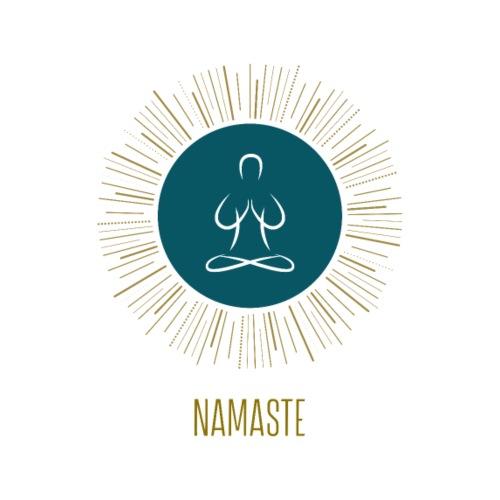 Yoga Namaste - Männer Premium T-Shirt
