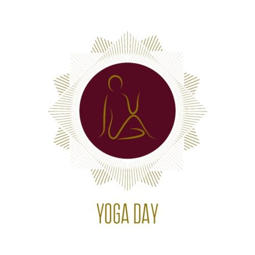 Yoga Day - Männer Premium T-Shirt