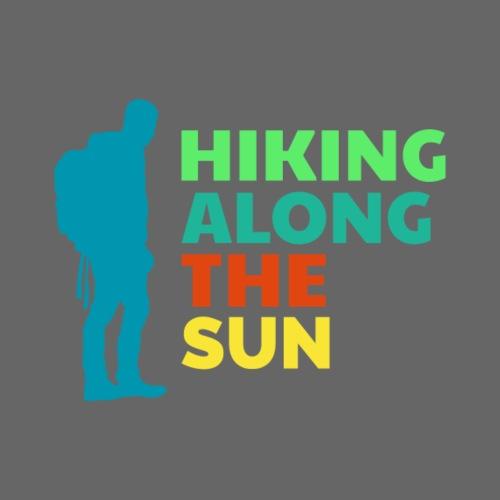 Hiking along the sun - Männer Premium T-Shirt