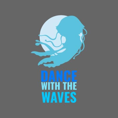 Dance with the waves - Männer Premium T-Shirt