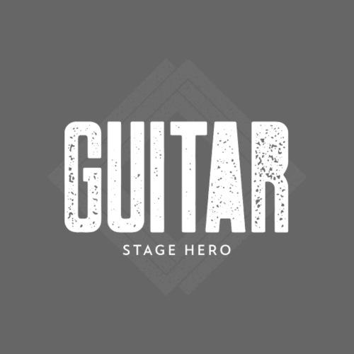 Guitar Stage Hero - Männer Premium T-Shirt
