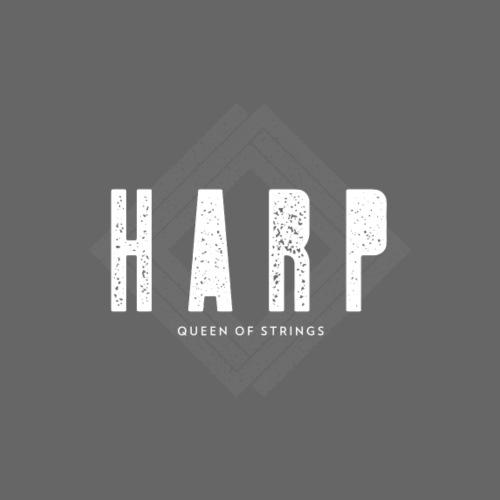 Harp Queen of Stings - Männer Premium T-Shirt