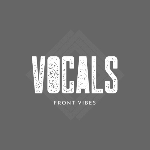 Vocals Front Fibes - Männer Premium T-Shirt