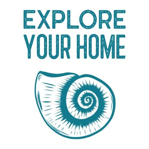 Explore your Home - Männer Premium T-Shirt