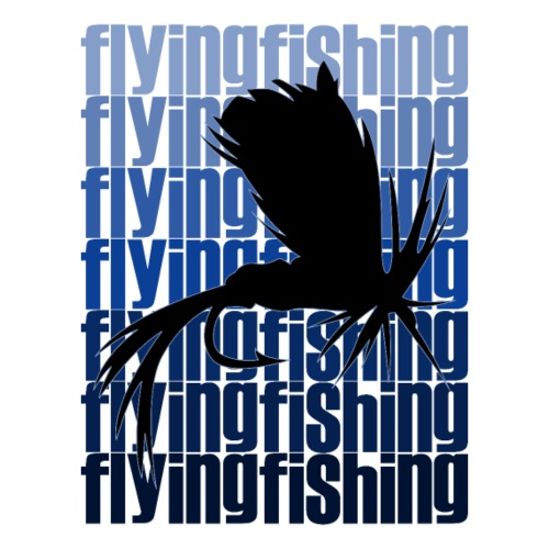 Flying Fishing - Männer Premium T-Shirt