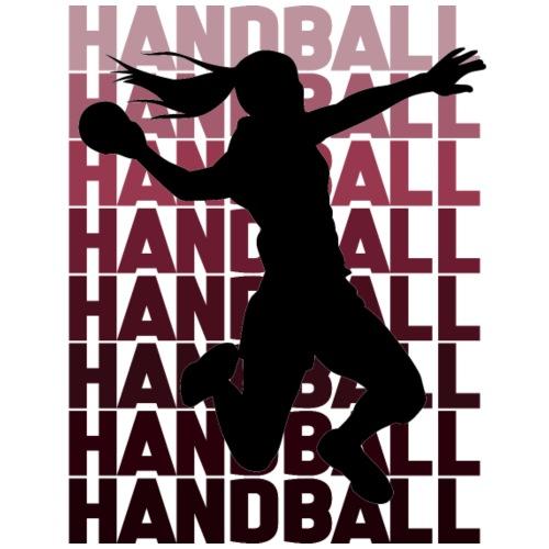 Handball Woman - Männer Premium T-Shirt