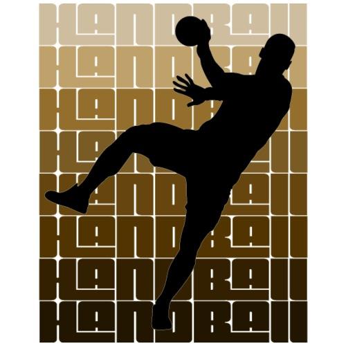 Handball Man - Männer Premium T-Shirt