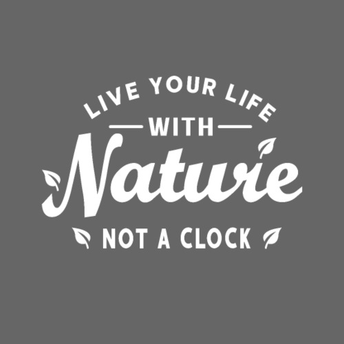 Live your life with Nature - Männer Premium T-Shirt