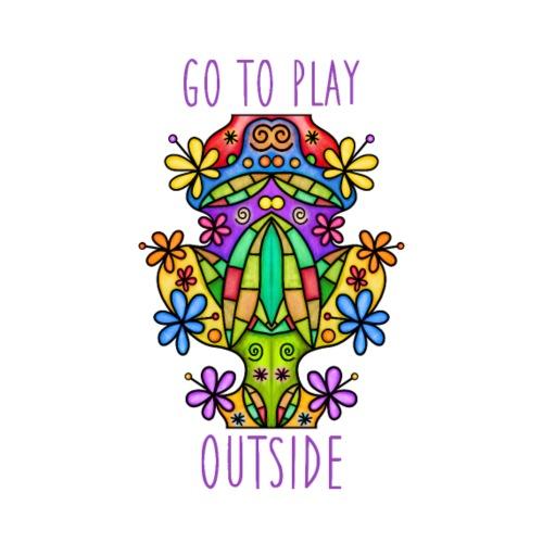 Go to play outside - Männer Premium T-Shirt