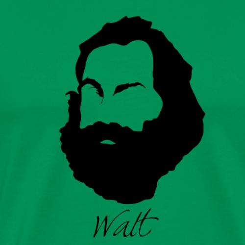 Walt Whitman Silhouette - Men's Premium T-Shirt