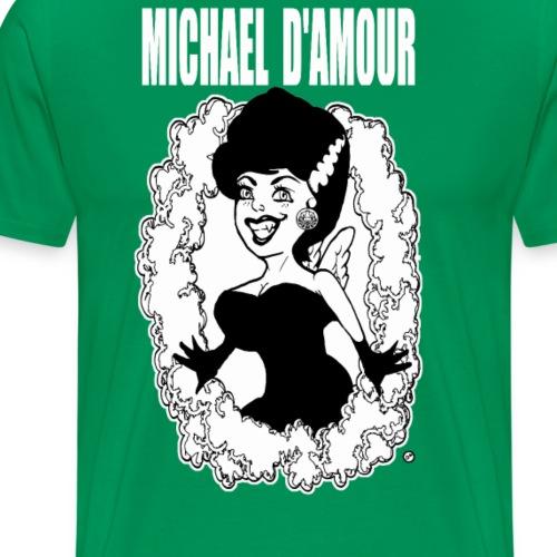 Michael D'Amour Vamp blanc édition limitée - T-shirt Premium Homme