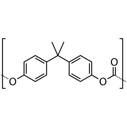 Polycarbonate (PC) molecule. - Men's Premium T-Shirt