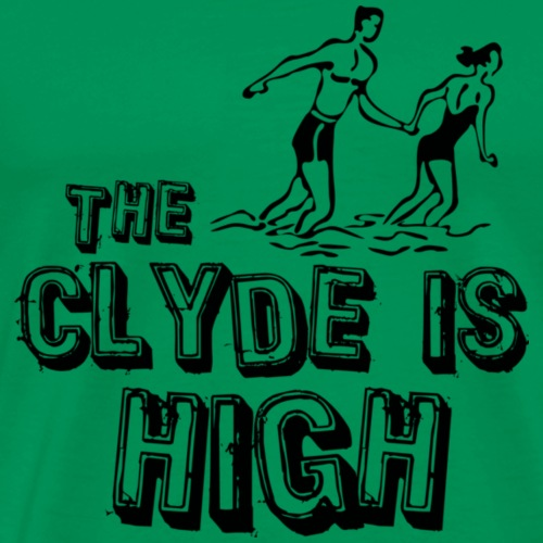 The Clyde is High - Men's Premium T-Shirt