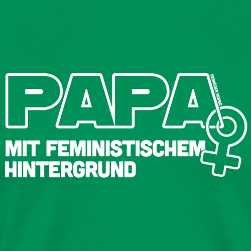 Papa - Männer Premium T-Shirt