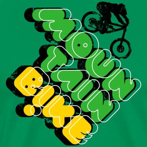 Mountain Bike - Point & Shoot - Men's Premium T-Shirt