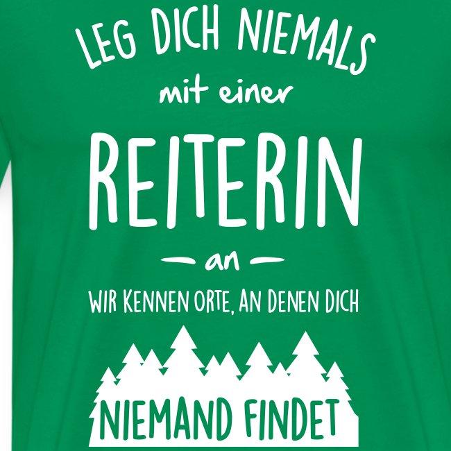 Vorschau: Reiterin - Männer Premium T-Shirt
