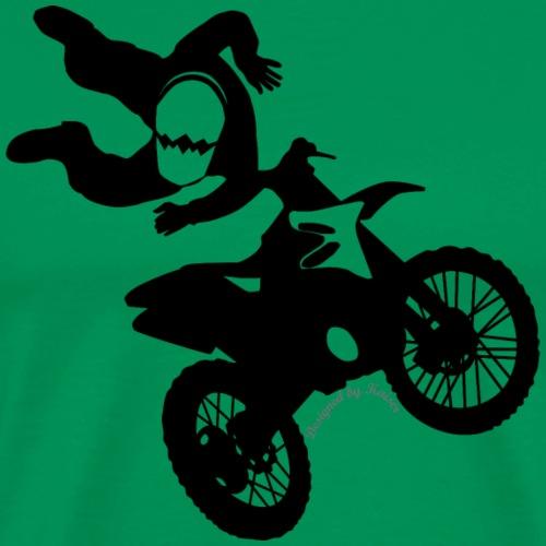 RIDER-3-8-1 couleur-F - T-shirt Premium Homme