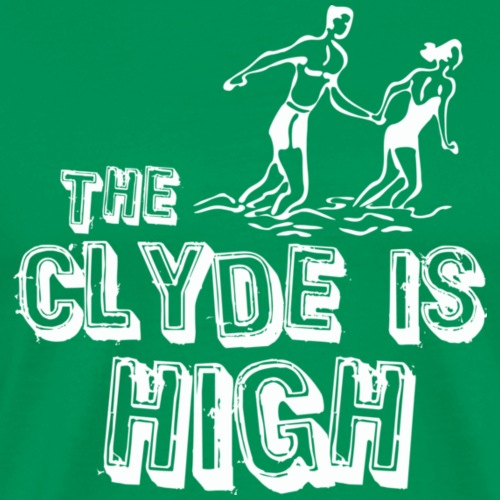 The Clyde is High - Men's Premium T-Shirt