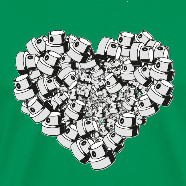 heart for art street love