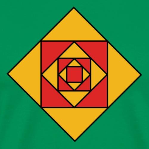 Prismes carrés - T-shirt Premium Homme