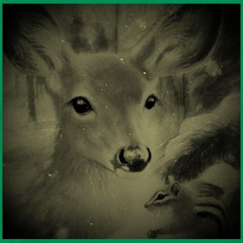 Il cerbiatto e lo scoiattolo - Maglietta Premium da uomo
