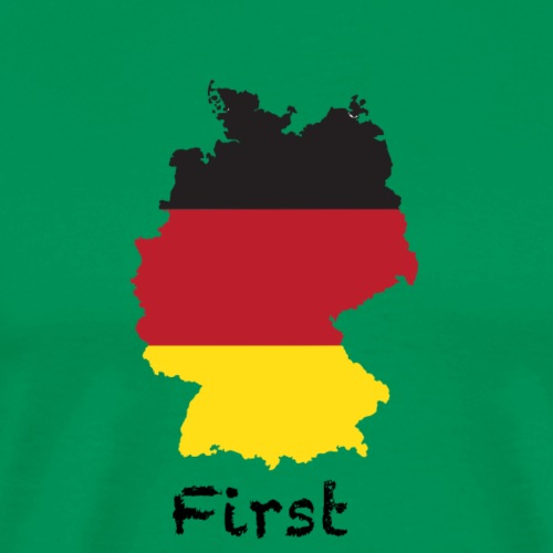Germany First - Männer Premium T-Shirt