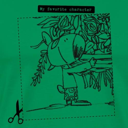 My favorite character - Mannen Premium T-shirt