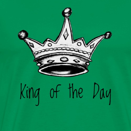 King of the Day - Männer Premium T-Shirt