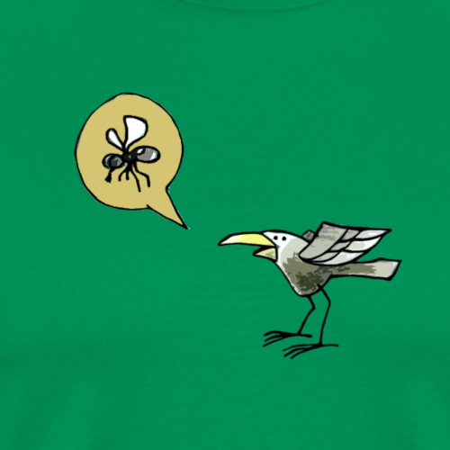 Hungry Bird - Männer Premium T-Shirt