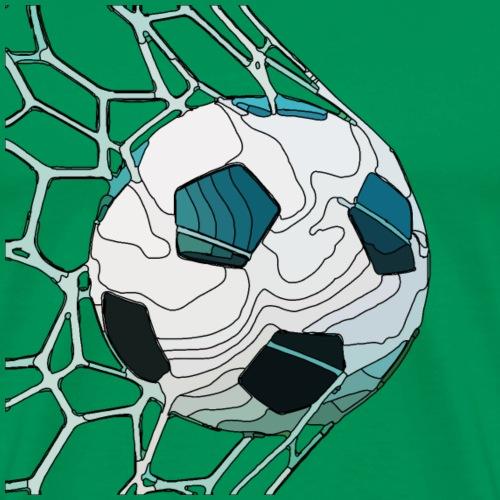 netzfussball1 - Männer Premium T-Shirt