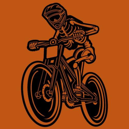 BMX / Mountain Biker 04_schwarz - Männer Premium T-Shirt