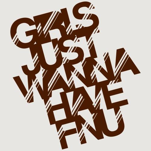 Fnu girls - Männer Premium T-Shirt