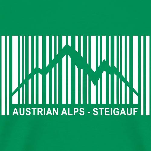 Steigauf Austrian Alps - Männer Premium T-Shirt