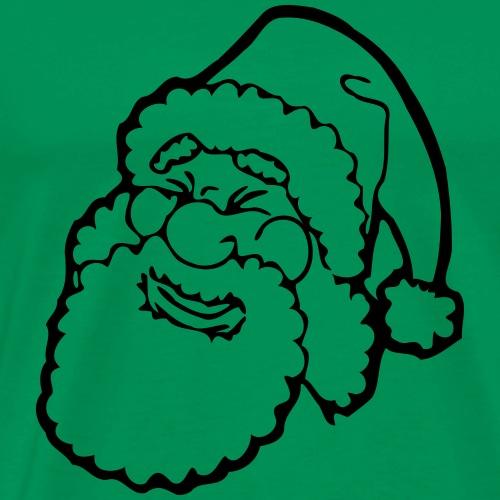 Santa Claus Père Noël Drôle de cadeau de BD - T-shirt Premium Homme