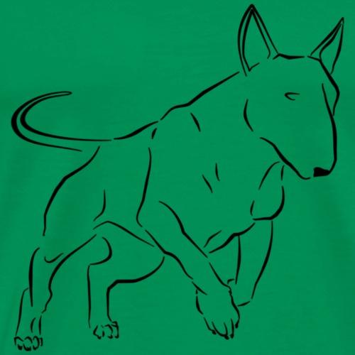 Bull Terrier - T-shirt Premium Homme