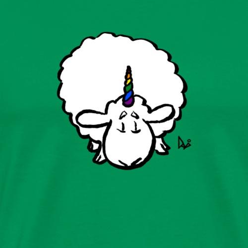 Ewenicorn - è una pecora unicorno arcobaleno! - Maglietta Premium da uomo