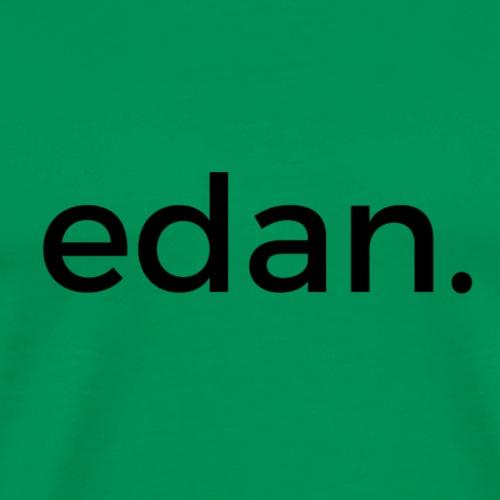 Black edan logo - T-shirt Premium Homme