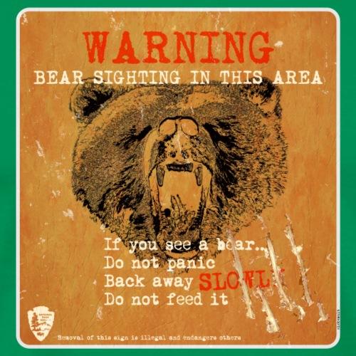 Grizzly sign - Camiseta premium hombre