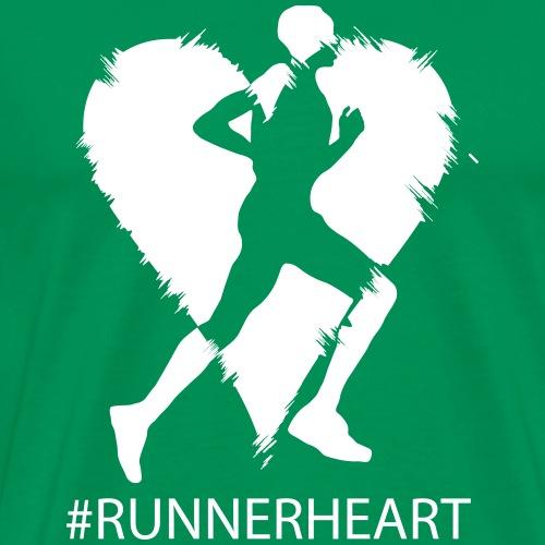 #Runnerheart man - Männer Premium T-Shirt