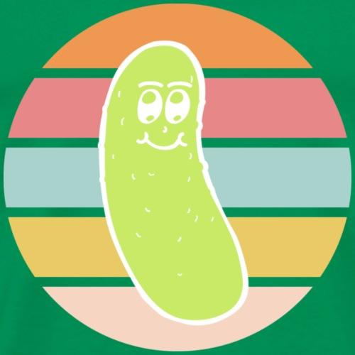 Vintage Colored Pickle #4 - Maglietta Premium da uomo