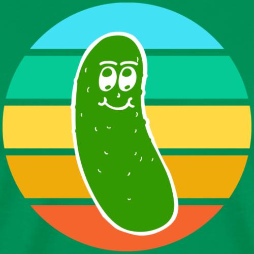 Vintage Colored Pickle #6 - Maglietta Premium da uomo