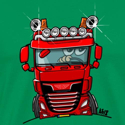 0700 D truck rood - Mannen Premium T-shirt
