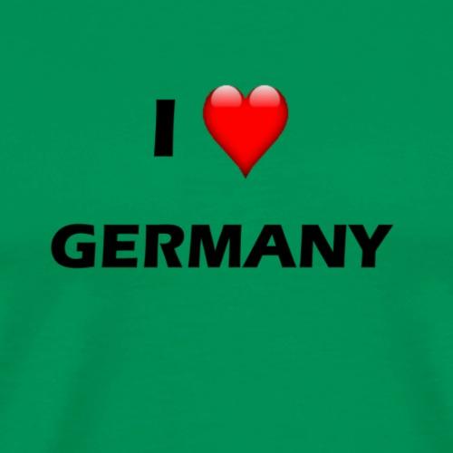 I Love Germany T-Shirt - Männer Premium T-Shirt