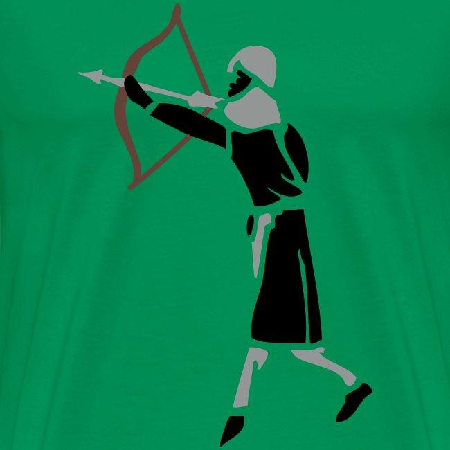 Archer Medieval Icon patjila design