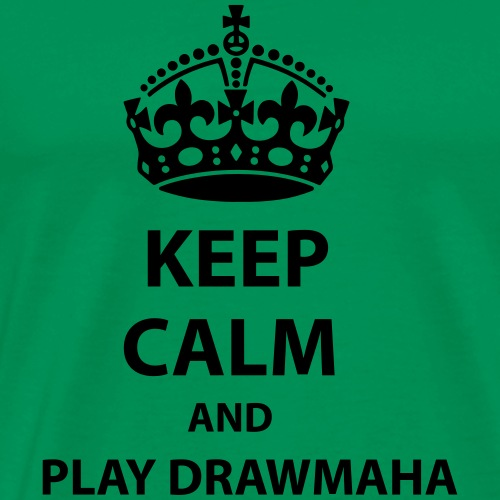 Play Drawmaha - Premium-T-shirt herr