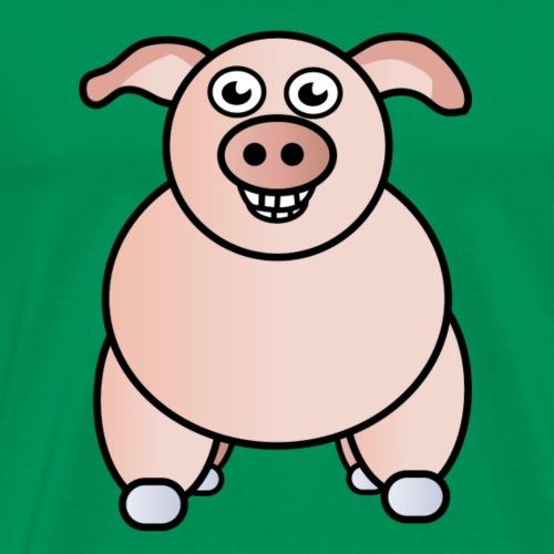 Schwein - Männer Premium T-Shirt
