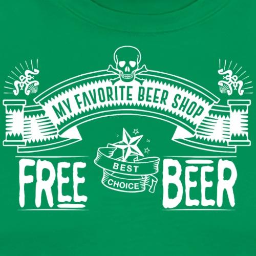 FREE BEER SHOP - Maglietta Premium da uomo