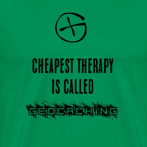 geocaching therapy - T-shirt Premium Homme